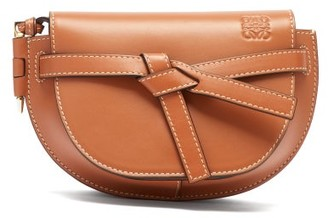 Loewe Gate Mini Leather Belt Bag - Womens - Tan