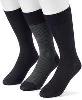 Marc Anthony Men's 3-pack Microfiber Dress Socks