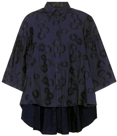 Co Floral cotton top