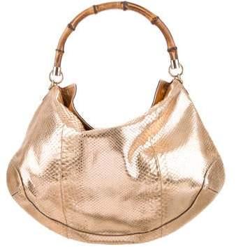 36b1b2b34440 Gucci Python Handbag - ShopStyle
