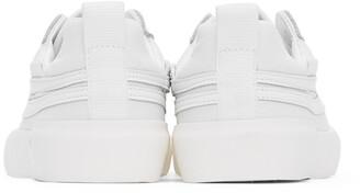 Joshua Sanders White Tonal Sneakers
