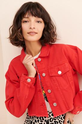 Glamorous Cropped Denim Jacket
