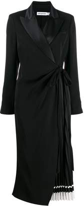 Self-Portrait tailored midi dress