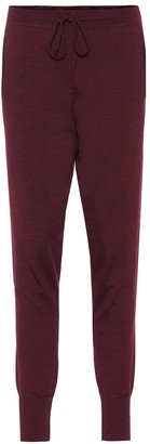 Ernest Leoty Bertille wool trackpants