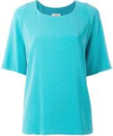 Alberto Biani plain T-shirt - women - Polyester/Triacetate - 40