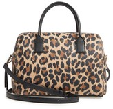 Kate Spade Dunne Lane Mega Lake Printed Leather Satchel - Brown