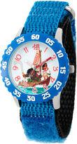 Disney Moana Boys Blue Strap Watch-Wds000031