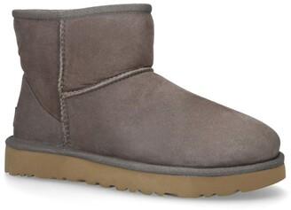 UGG Shearling-Lined Mini Boots