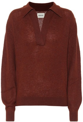 KHAITE Jo stretch-cashmere sweater