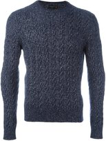 Corneliani ribbed jumper