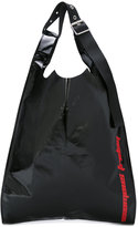 Raf Simons printed slouchy tote - men - Plastic - One Size