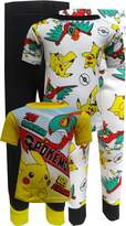Nintendo Pokemon Characters Cotton 4 Piece Pajamas for boys