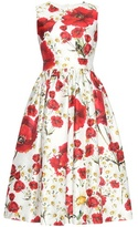 Dolce & Gabbana Printed Cotton And Silk Dress