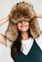 San Diego Hat Company Oversized Faux Fur Trapper Hat