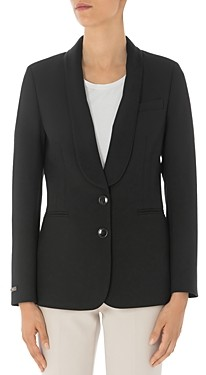 Peserico Two-Button Shawl-Collar Blazer