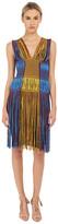 M Missoni Fringe V-Neck Dress