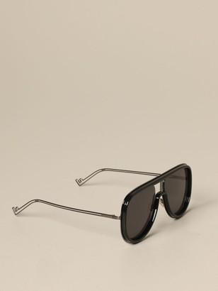 Fendi Acetate Sunglasses With Double Bridge