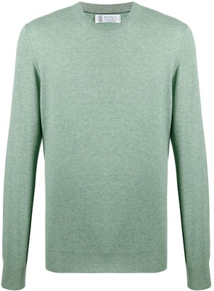 Brunello Cucinelli Plain Long-Sleeve Jumper