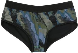 Track & Field Camo shorts