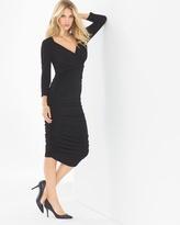 Soma Intimates Evelyn Midi Dress Black