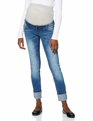 Mama Licious Mamalicious Women's Mlturin Slim Ankle Jeans