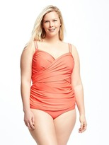 Old Navy Front-Wrap Plus-Size Tankini