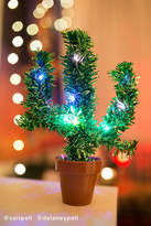 Urban Outfitters Light-Up Potted Cactus Christmas Tree