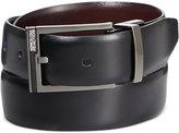 Kenneth Cole Reaction Matte Plaque Accent Reversible Belt