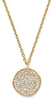 Ippolita 18K Yellow Gold Glamazon Stardust Flower Pendant Necklace with Diamonds, 16
