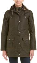 Barbour Leather-Trim Seaton Wax Jacket