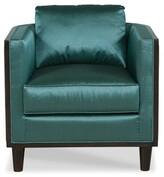 Fairfield Chair Adelle Lounge Chair Fairfield Chair Body Fabric: 8789 Pewter, Frame Color: Almond Buff