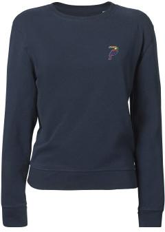Creoate - Toucan Lightweight Sweat - cotton | Medium | navy blue - Navy blue
