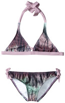 Hurley To Dye For Halter Top & Retro Bottom (Big Kids)