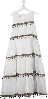 Caffe' D'orzo TEEN charm-detail dress