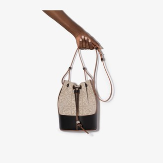 Loewe Neutral Balloon monogram bucket bag