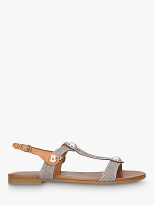 Carvela Comfort Saz Flat Open Toe Sandals