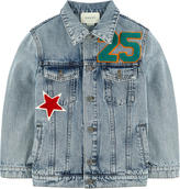 Gucci Jean jacket with fancy patches