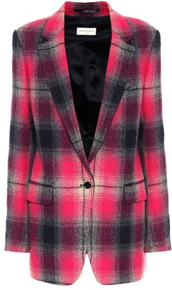 Dries Van Noten Checked wool blazer