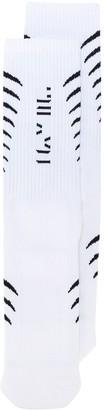 Unravel Project Vertebrae Print Socks