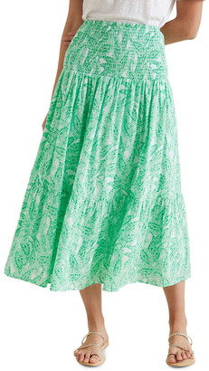 Seed Heritage Paisley Maxi Skirt