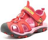 Femizee Boys Girls Adventure Seeker Hook-and-Loop Sport Sandal Walking Shoes(Toddler/Little kid/Big kid)
