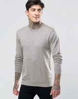 Scotch & Soda Jumper With Crew Neck Cotton In Sand Marl
