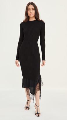 No.21 Long Sleeve Knit / Slip Dress