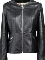 Golden Goose Deluxe Brand Zip-up Biker Jacket