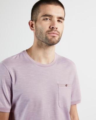 Ted Baker STRETCH Short Sleeve Slubby T-Shirt