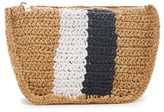 Sole Society Chade Stripe Woven Crossbody Bag