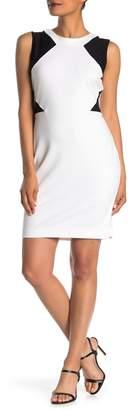 Amanda & Chelsea Colorblock Sleeveless Sheath Dress