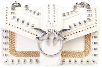 Pinko Love Studded Mini Crossbody Bag