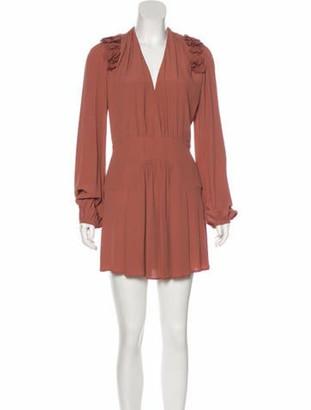 No.21 No. 21 Crepe Mini Dress pink No. 21 Crepe Mini Dress