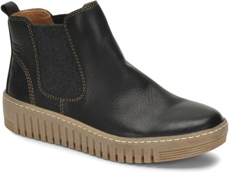 Comfortiva Laceless Leather Chelsea Sneaker Booties - Hartley